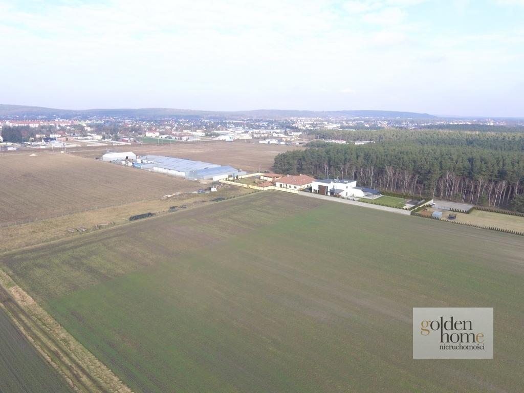 Działka produkcyjno/magazynowa k. Mosiny 0,6 ha