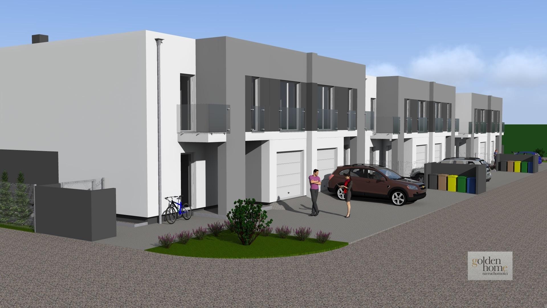 Nowa inwestycja, lokale w zabudowie szeregowej z ogródkami na Strzeszynie
